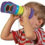 prismáticos para niños