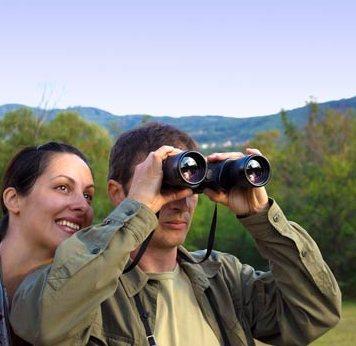 prismaticos para observación de aves